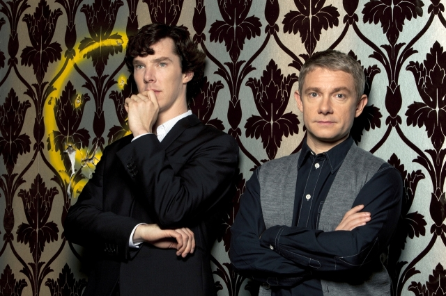 I LOVE the Sherlock wall paper.  Love it. Love it. Love it.
