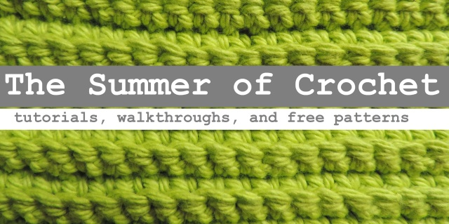 Summer of Crochet banner