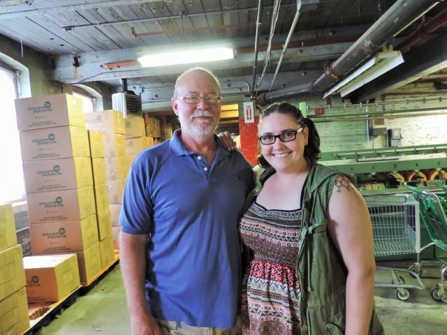 Megan-Anne and Kreamer President, David Schmidt