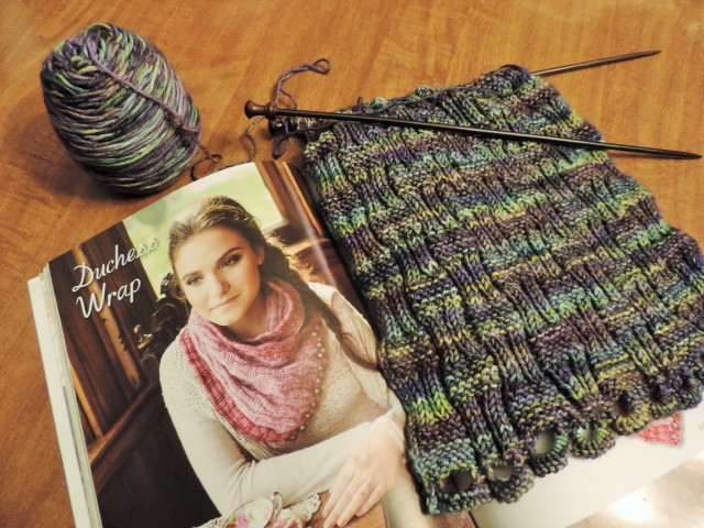 Duchess Wrap by Pam Powers